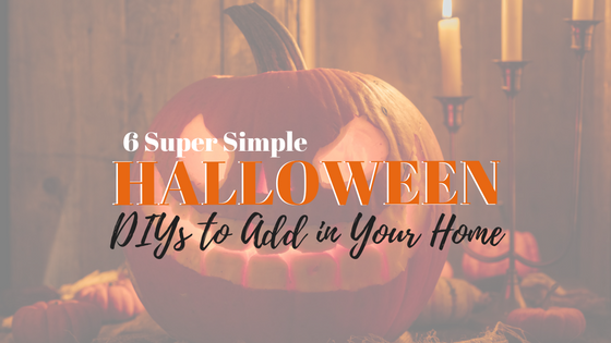 6 Last-Minute Halloween DIYs for the Home
