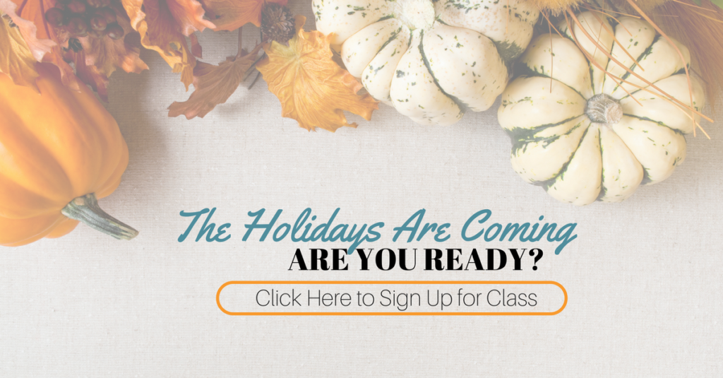 holiday home decor class