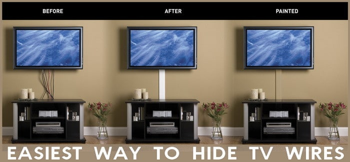 how to hide wires 5 essential ways to conceal wires at home. Black Bedroom Furniture Sets. Home Design Ideas
