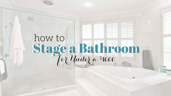 Bathroom Vanities Under $1000 insider secrets to stage a bathroom for under $1000