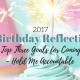 birthday reflection