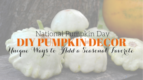 Happy National Pumpkin Day: Easy DIY Pumpkin Centerpiece + More
