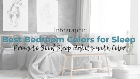 How to Promote Good Sleep Habits in the Bedroom Through Color