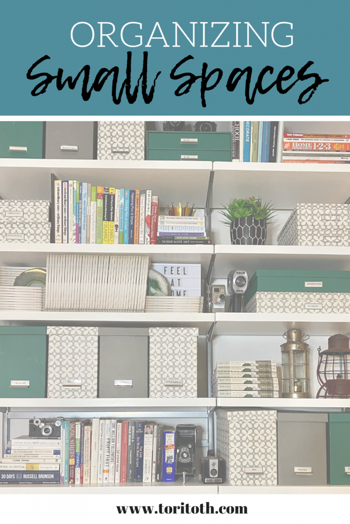 Learn how to maximize your storage solutions and organize your small spaces with Tori Toth.