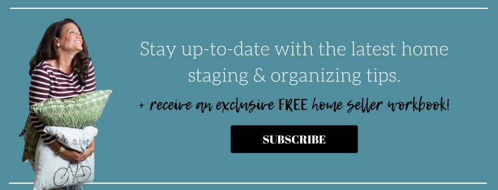 Tori Toth email list opt-in plus access to a free home seller workbook